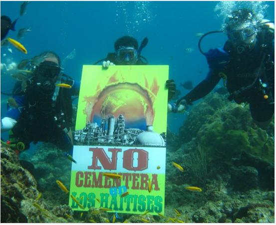 NO CEMENTERA - En el fondo del mar